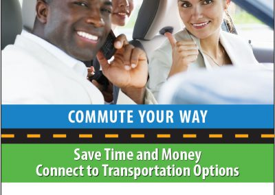 Commuter agency ads